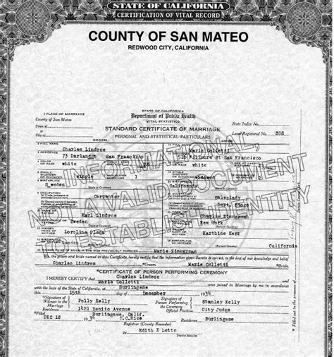 Contra Costa County Birth Records Birth Certificate California Martinez Image Collections Certificate Design And Template