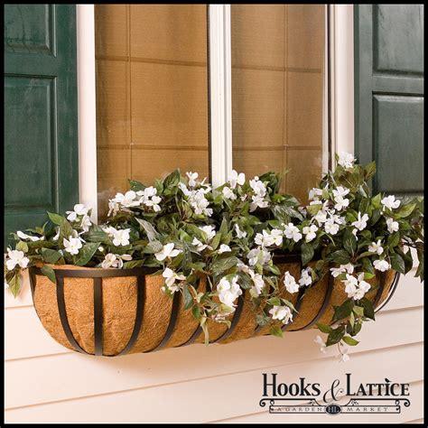 Hay Planter by Hay Rack Window Boxes Hayrack Planters Hooks Lattice