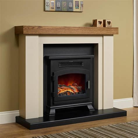Electric Fireplace Suite Free Delivery Elgin Bracken Electric Fireplace Suite