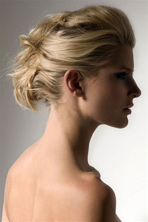 Easy Hairstyles For Medium Hair Images by And Easy Pilled Updo Hairstyles For Medium Length