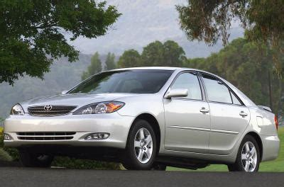 2003 toyota camry information