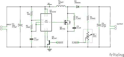 smps layout guidelines 555 timer boost converter doesn t meet spec