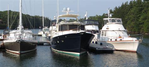 boat marina yard great island boat yard in harpswell me united states