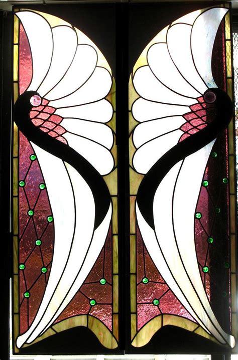 art deco and art nouveau on pinterest art deco clip art art deco art nouveau leaded stained glass window panels