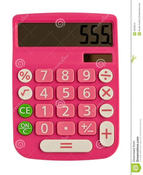 imagenes de calculadoras glamorous pink calculator stock images image 22283514