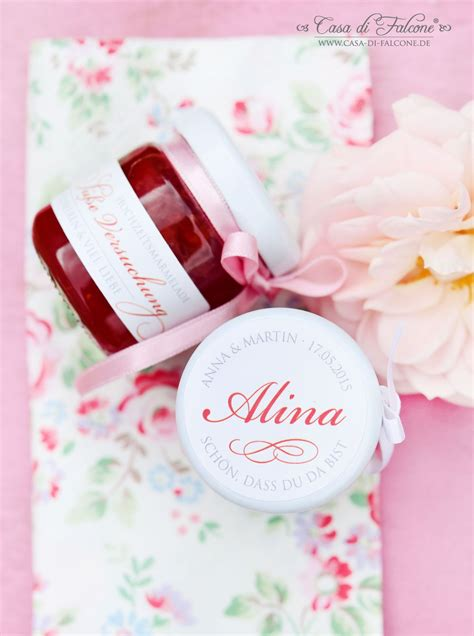 Personalisierte Aufkleber Marmelade by Hochzeitsmarmelade Als Gastgeschenk Und Zugleich
