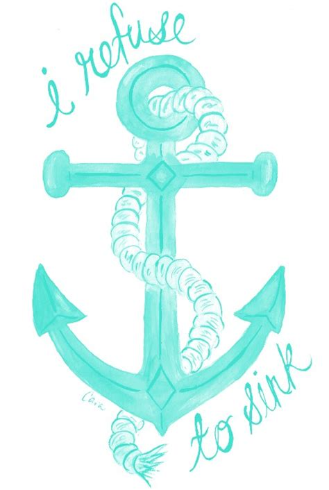 i refuse to sink cute tattoo