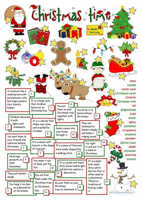 christmas activity for work time worksheet free esl printable worksheets made by teachers