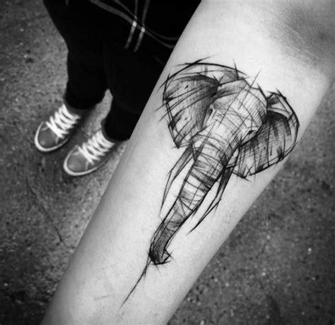 detailed elephant tattoo amazing elephant tattoo