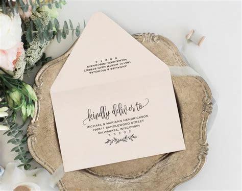 Envelope Printable Envelope Template Wedding Envelope Printable Editable Envelope Template Rsvp Envelope Template