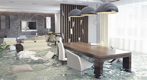 flooded room repairing and preventing flooded cooling and heating systems