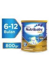 Nutribaby Soya 2 400g bebelove 2 formula lanjutan box 400g klikindomaret
