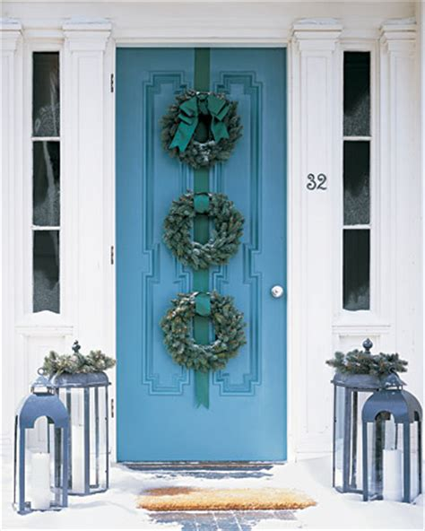 Living It At Home Welcoming Front Door Decorations Front Door Hanging Decorations
