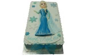 Lay down elsa frozen cake