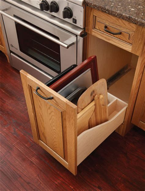 cabinet in an almost all drawer kitchen