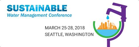design management conference 2018 sustainable water management conference american water