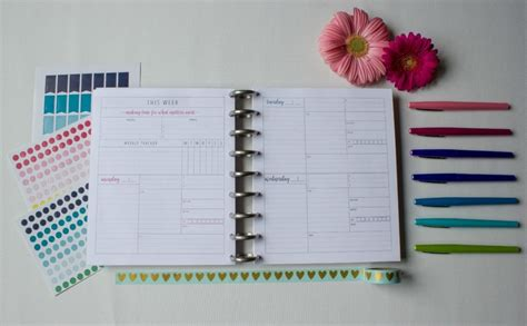 printable life planner 2018 the organized life planner 4 all new editions