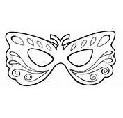 Mascara De Carnaval Desenho  AZ Dibujos Para Colorear