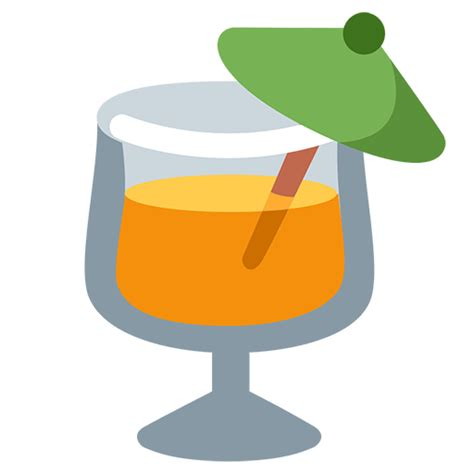 tropical drink emoji list of food drink emojis for use as