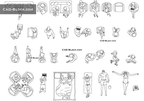 Kitchen Floor Plan Symbols Appliances Person Top View Cad Block Autocad File Dwg Download