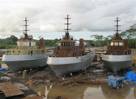 tug boat indonesia pt nes tug boat restoration project location samarinda