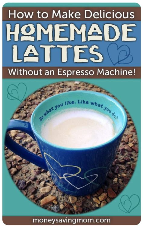 how to make delicious lattes without an espress