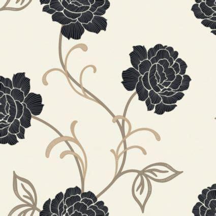 arthouse opera lauren black cream wallpaper image