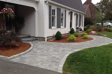 brick paver outdoor patio paved    permeable