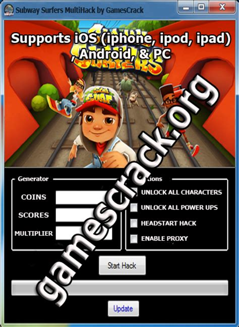 Subway Surfers Mod Game For Windows Phone | subway surfers hack cheats games crack all the latest