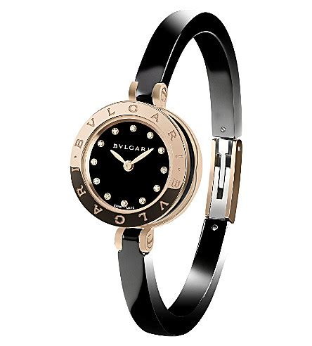 Bvlgari Snakerose Gold All Stell bvlgari b zero1 18ct pink gold stainless steel and