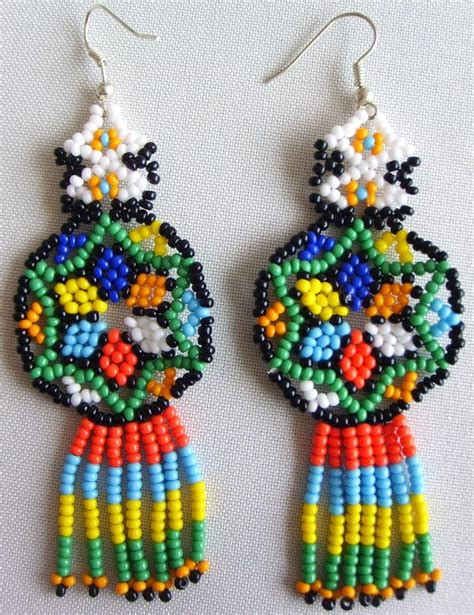 143 best images about huichol earring on