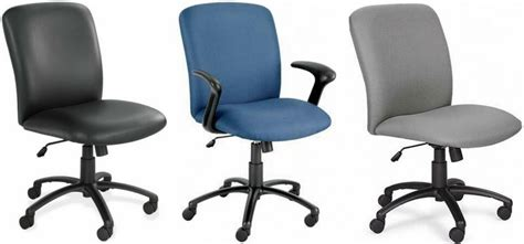 Office Chairs High Weight Capacity Safco High Back 500 Pound Weight Capacity Chair 3490