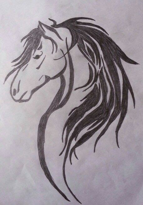 tribal horse head tattoo sample clip art library