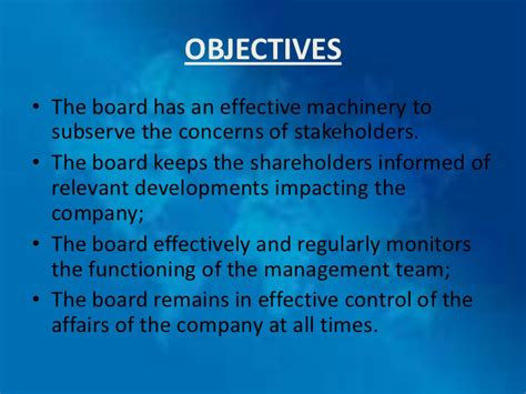 improving school board effectiveness a balanced governance approach books corporate governance
