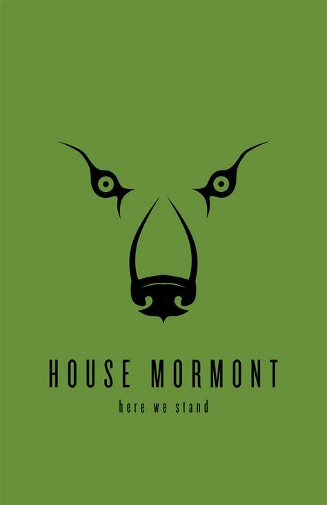 house mormont house mormont minimalist poster by liquidsouldesign on deviantart