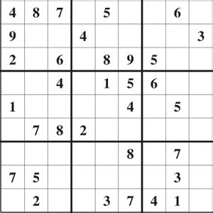 printable sudoku adults sudoku 003 and 004 easy free printable puzzles