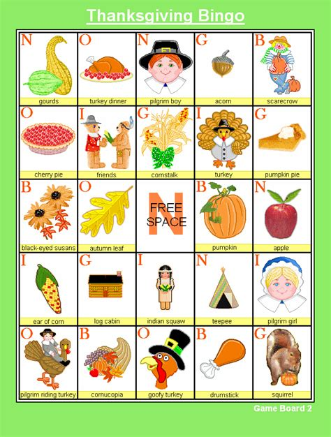 printable holiday bingo games 8 best images of printable thanksgiving bingo game