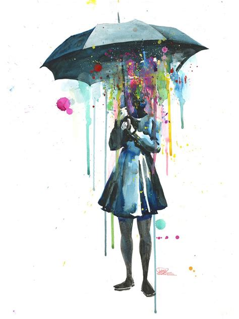 watercolor tattoo umbrella 25 best ideas about umbrella on
