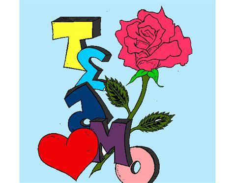 imagenes de rosas azules para dibujar te amo con rosas dibujos imagui
