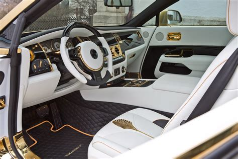 rolls royce gold interior wallpaper mansory rolls royce wraith wraith palm edition