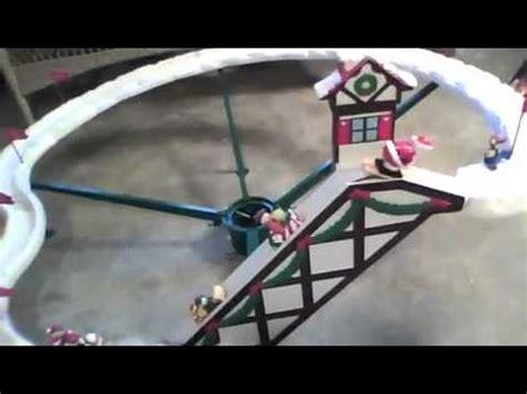 mr. christmas ~ santa ski slope youtube