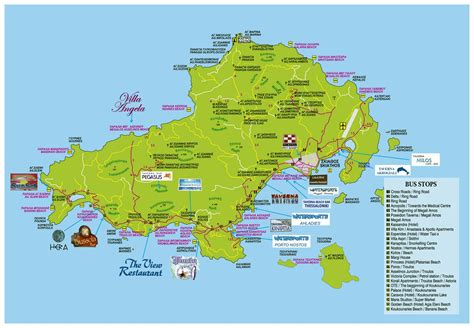 map island large skiathos island maps for free and print