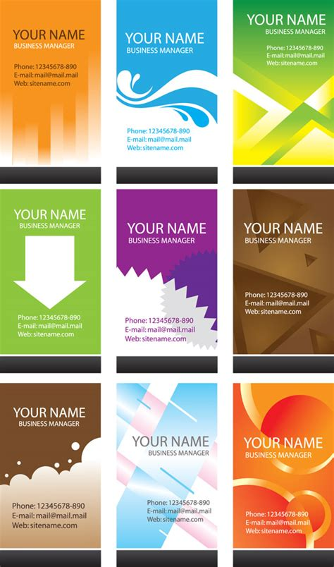 simple business card template word simple business card template vector free vector 4vector