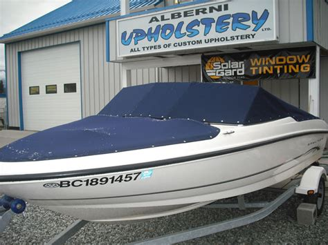 boat covers that snap on alberni upholstery port alberni parksville nanaimo