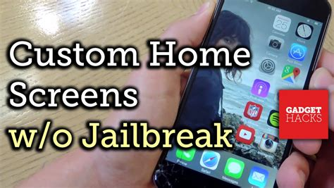 iphone jailbreak layout customize your iphone s home screen layout without