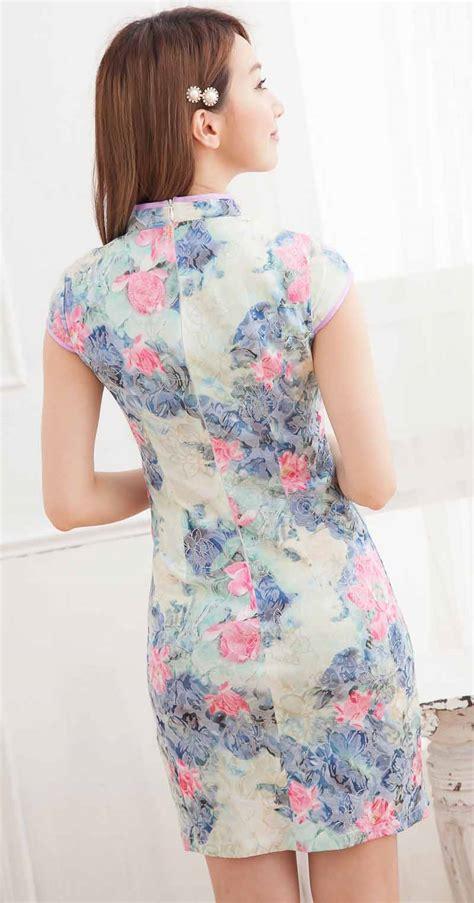 Baju Qipao Modern baju cheongsam wanita modern import murah model terbaru jual murah import kerja