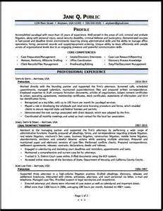 sample resume for paralegal paralegal resume examples