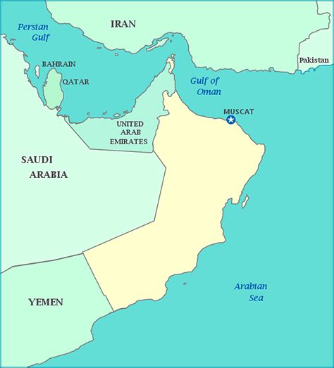 middle east map your child learns images and places pictures and info oman map middle east