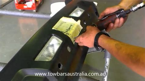 cut  bumber  towbar installation youtube