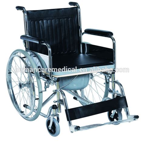 indoor and outdoor commode wheelchair with bedpan buy
